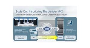 Juniper Unfurls First Carrier-Grade Virtual Router