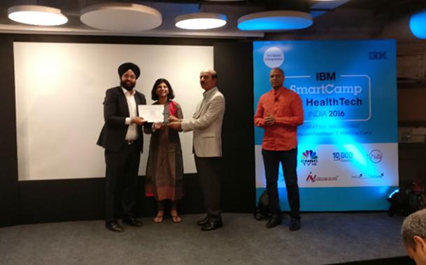 Oxyent Tech Bags IBM Smartcamp for Health Tech Challenge 2016