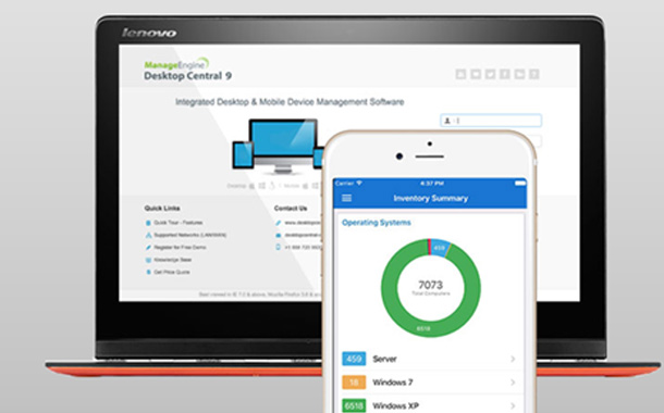 ManageEngine\'s endpoint mgmt. application gets ServiceNow ...