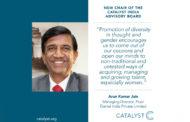 Catalyst announces Arun Kumar Jain as chair of India advisory board