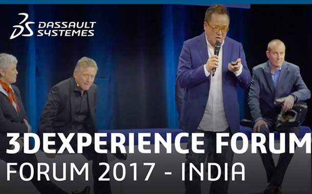 Dassault Systèmes' to emphasize on digitization of Indian industries at 3DEXPERIENCE Forum 2017