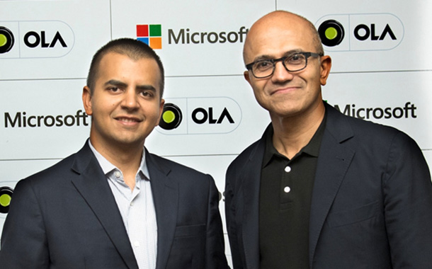 Ola, Microsoft partner to build new futuristic connected vehicle platform