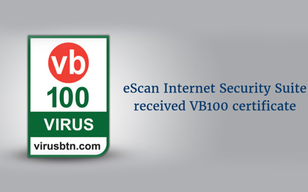 eScan establishes Global Standards with VB 100 Test