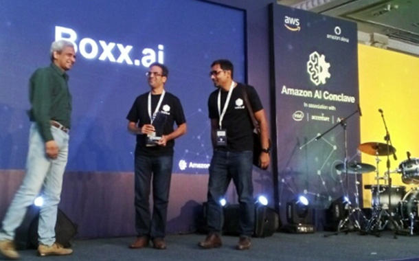 Boxx.ai receives AI Award for Analytics at Amazon AI Conclave 2017