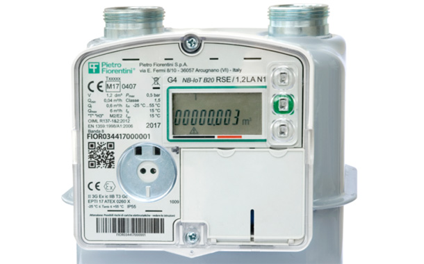 Pietro Fiorentini's NB-IoT Smart Gas Meter EU's Commercial approval