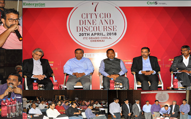 Chennai IT leadership converges at 7 City CIO Dine and Discourse 2018