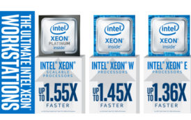 Intel Xeon E Processor tailored for Entry-level Workstations