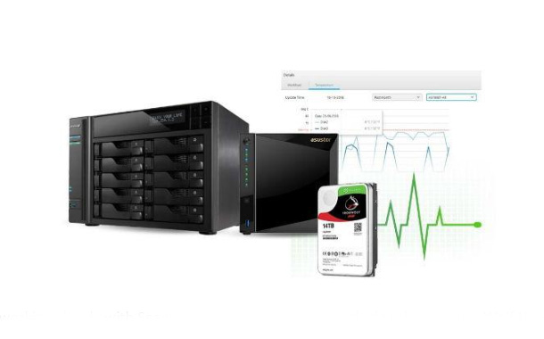 ASUSTOR, Seagate unveil IronWolf Health Management Software