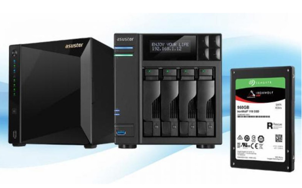 Asustor adds support for Seagate IronWolf 110 SSDs