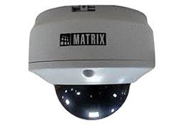 Matrix IP Cameras come with Superior Components
