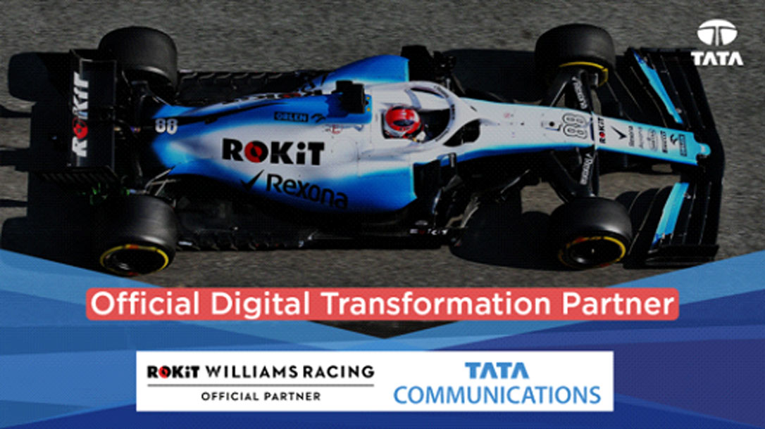 Tata Communications becomes the Official Digital Transformation Partner of ROKiT Williams Racing