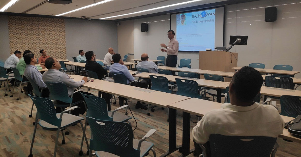 The International Association of Microsoft Channel Partners, IAMCP, conducts Workshop on Security in Mumbai